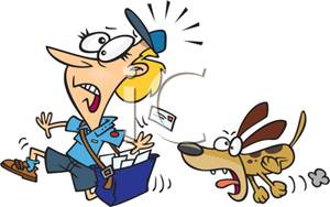 A_Cartoon_Postman_Being_Chased_By_a_Dog_Royalty_Free_Clipart_Picture_100413-010015-349053